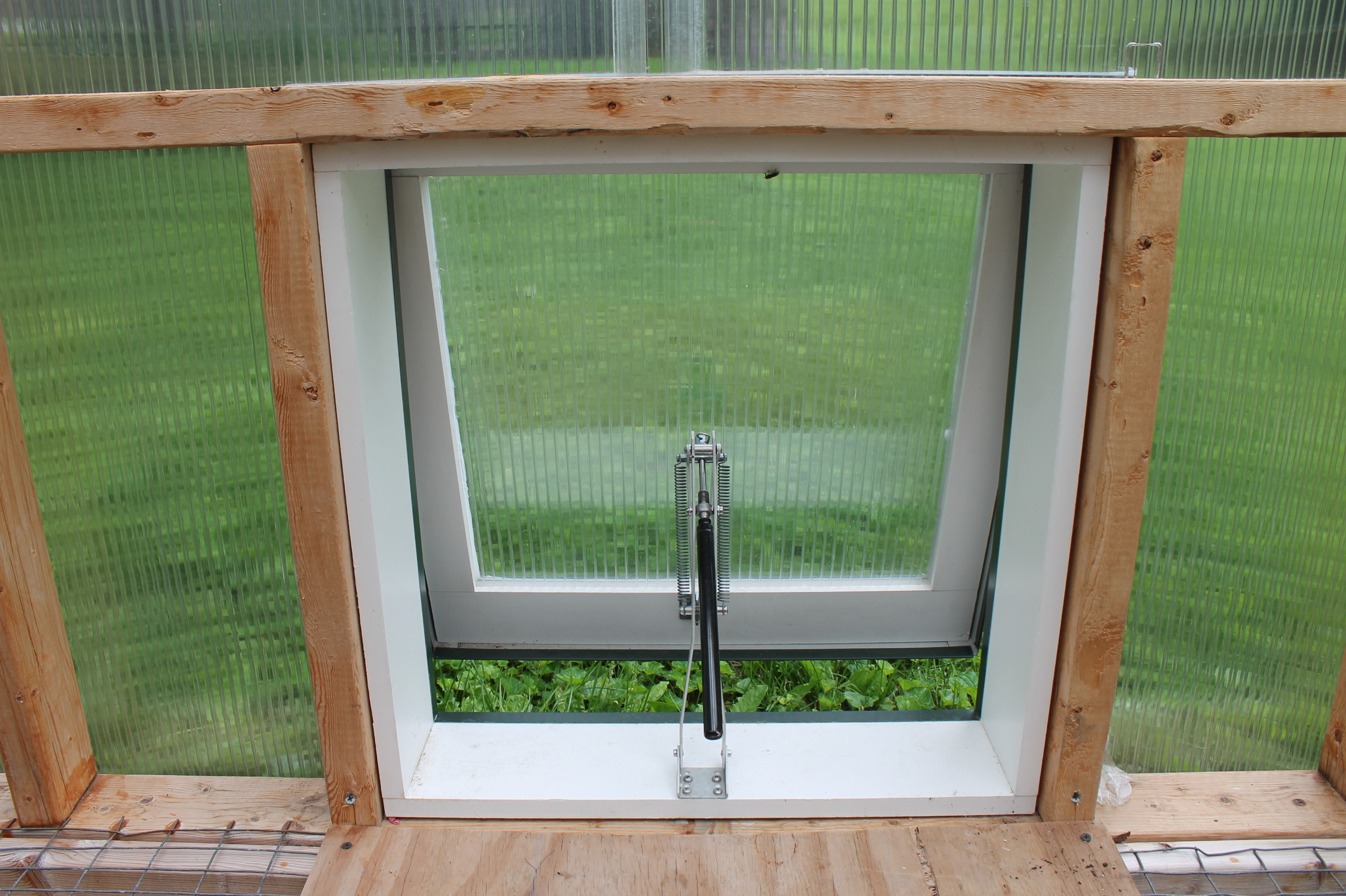 Vent for greenhouse kit